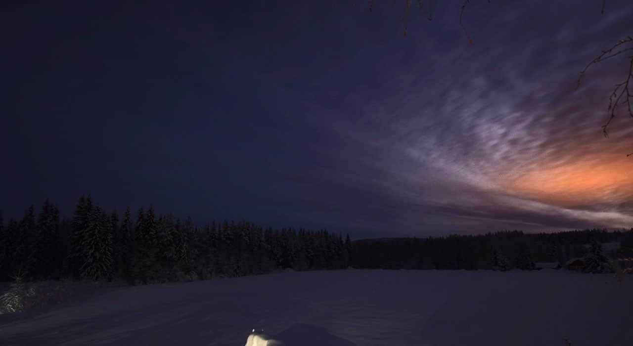 Foto-Webcam Nachtaufnahme in Älvsbyn Schweden