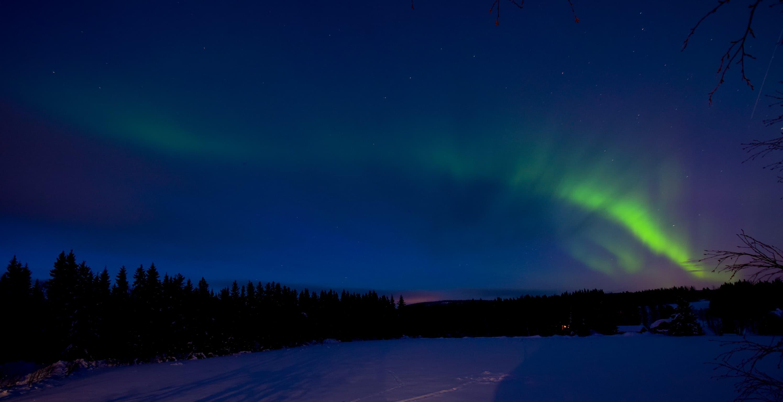 Foto-Webcam knipst Nordlicht
