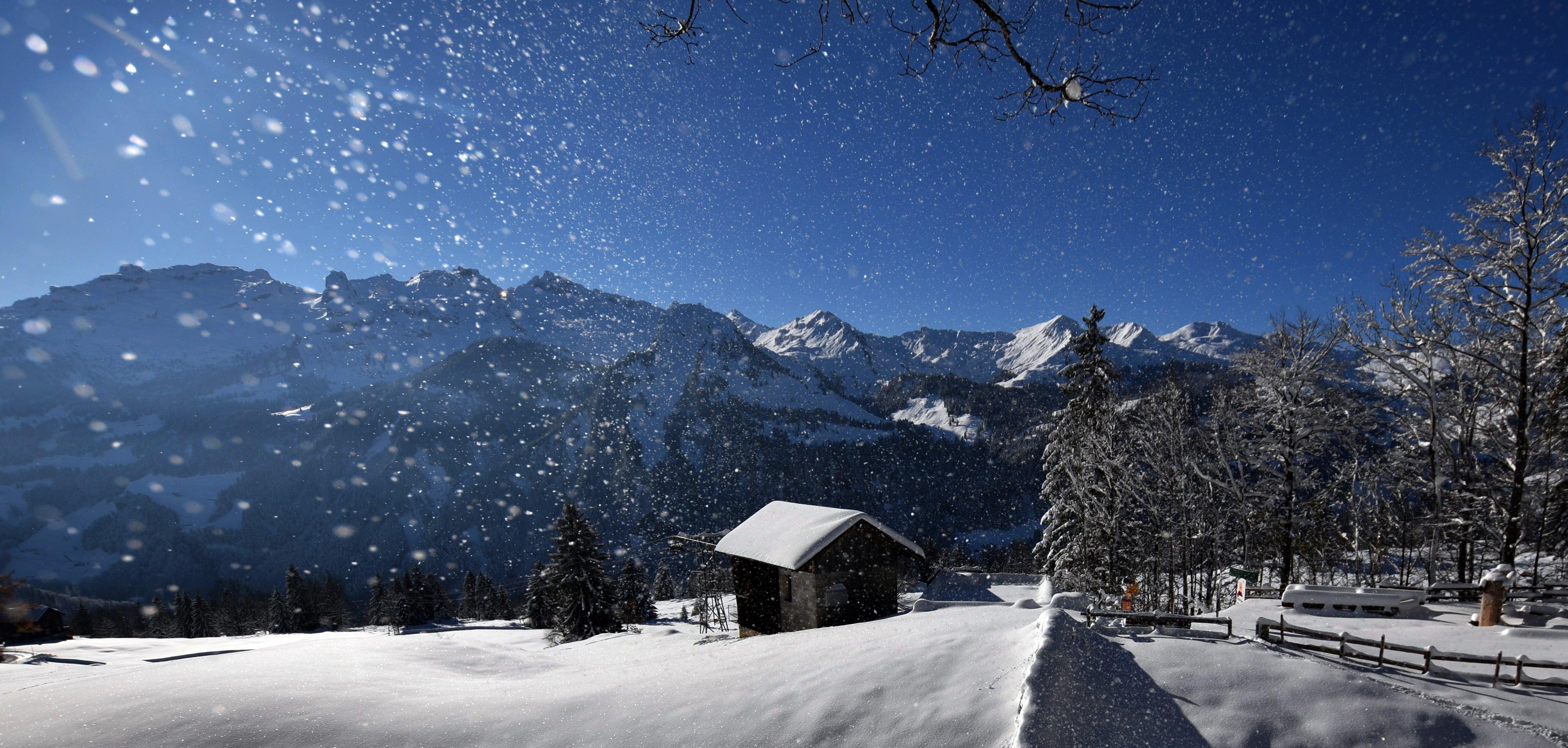 Tourismus Webcam Stoos Muotatal im Winter